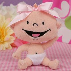 Cuteseey Caucasian Girl Little Baby Rattle