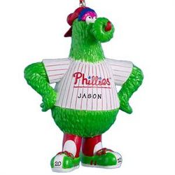 Personalized Phillie Phanatic Ornament