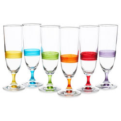 Day Champagne Glass Set of 6