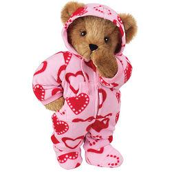 Sweetheart Hoodie-Footie Teddy Bear