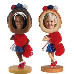 Cheerleader Photo Bobblehead Frame