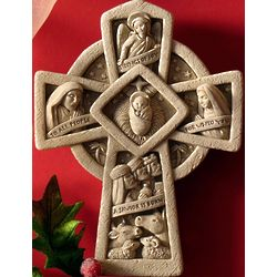 Tidings Of Joy Nativity Stone Plaque