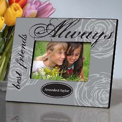Personalized Best Friends Always Picture Frame