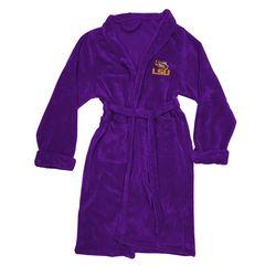 Men's LSU Tigers Silk Touch Plush Bath Robe