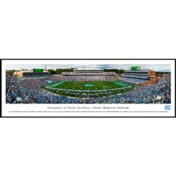 North Carolina Football 50-Yard Line Panorama Framed Print