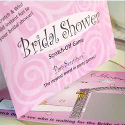 Scratch-Off Game for Bridal Shower
