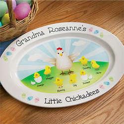 Chickadee Platter