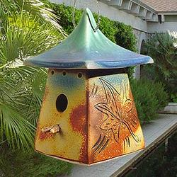 Mission Style Birdhouse