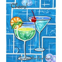 Cheers, Let's Celebrate! Fine Art Print