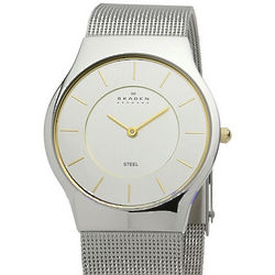 Men's Mesh Slimline Watch