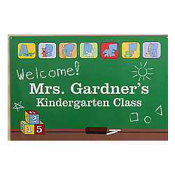 Little Learners Personalized School Poster