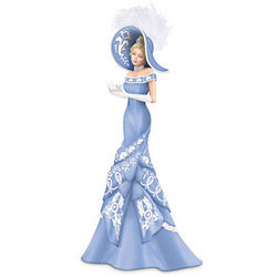 Elegant Faith Lady Figurine