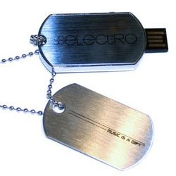 Musician's 8GB Dog Tag Necklace