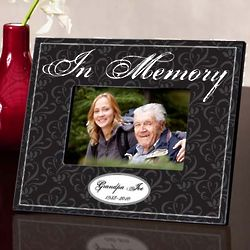Personalized In Memory Memorial Frame