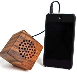 Japura Zebra Wood USB Portable Speaker