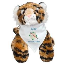 Personalized Baseball Tiger