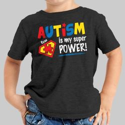 Personalized Autism Is My Superpower T-Shirt