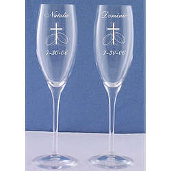Champagne Toasting Glasses