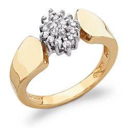 1/4 Carat Diamond Cluster Ring