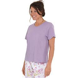 Lilac T-Shirt Pajamas