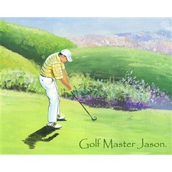 Golf is Life II Personalized Print