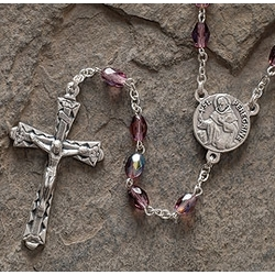 Survivor Rosary with St. Peregrine Medal
