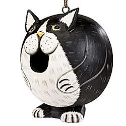 Fat-Cat Birdhouse