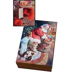 Santa Secret Treasures Gift Box