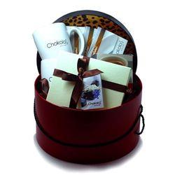 Leopard Hat Box of Chocolates