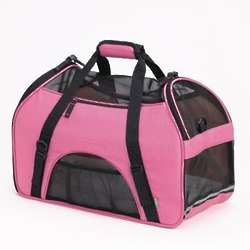 Comfort Pet Carrier in Rose Pink