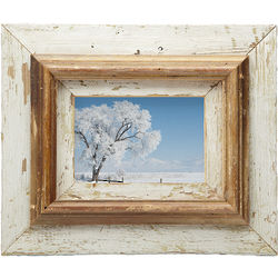 Repurposed Layered Wood Picture Frame