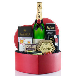 Just Because I Love You Champagne Gift Basket