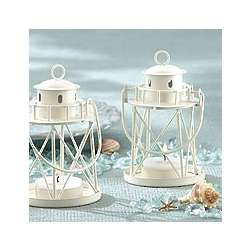 By the Sea Lighthouse Tea Light Holder Favor