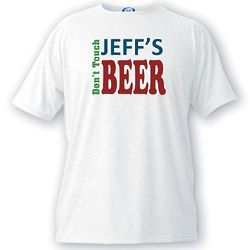 Men's Don't Touch My Beer T-Shirt