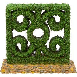 Square Hedge Aquarium Ornament