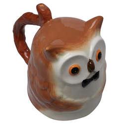 Topsy Turvy Owl Coffee Mug