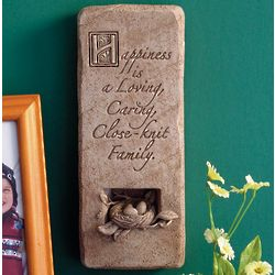 Blissful Home Stone Plaque