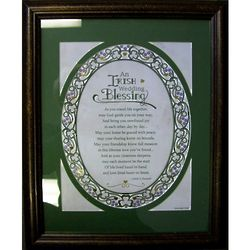 An Irish Wedding Blessing Framed Print