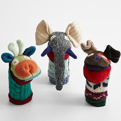 Handcrafted Wool Hand Puppet