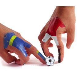 Soccer Finger Tattoos