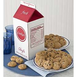 Chocolate Chip Cookies Milk Carton Gift Box