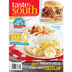 Taste of the South Magazine Subscription