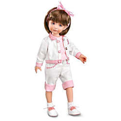 Sisters Walk Together Breast Cancer Awareness Collectible Doll