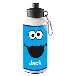 Personalized Sesame Street Big Face Water Bottle