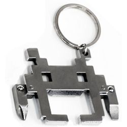 Space Intruder Multi-Tool Key Chain