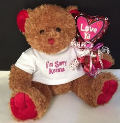 "Love Ya Personalized 10"" Teddy Bear"