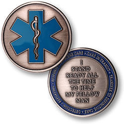 Emergency Medical Services Keepsake Coin