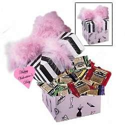 Sweet Ghirardelli Pink Boa Valentine's Gift Box