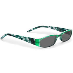 Green Sunreaders Reading Glasses