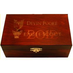 Personalized Eagle Scout Memory Box